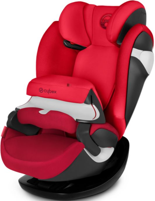 CYBEX Autosedačka Pallas M-fix (9-36 kg), Rebel Red (2018)