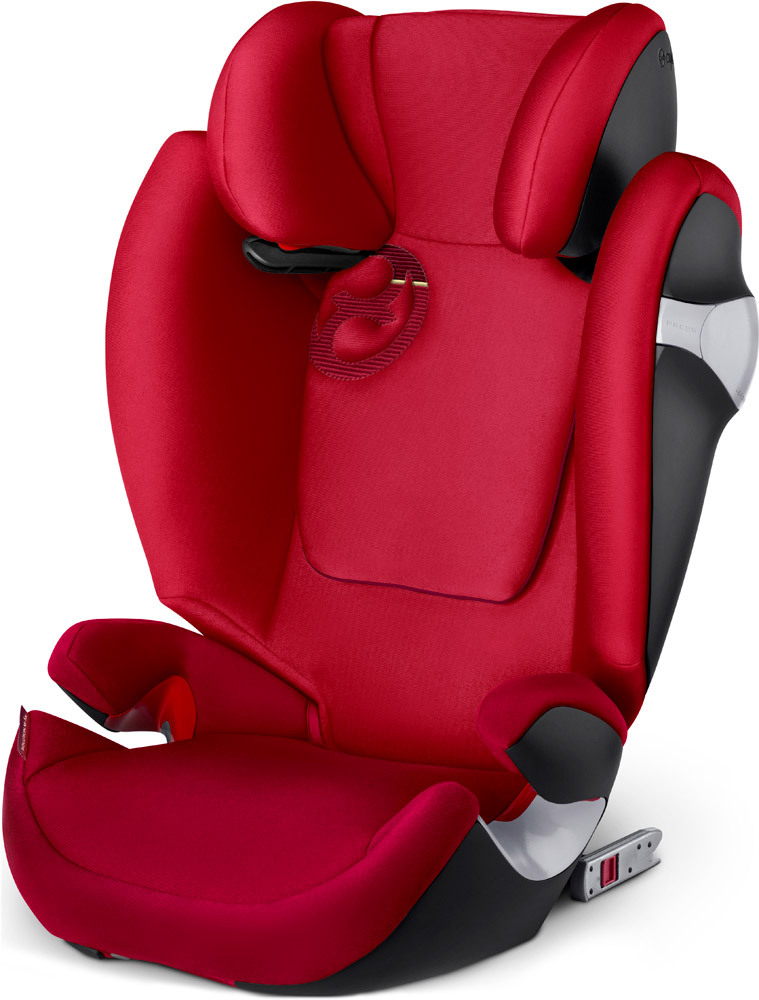 CYBEX Autosedačka Solution M-fix (15-36 kg), Rebel Red (2018)