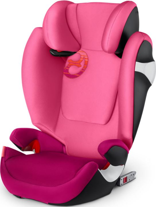CYBEX Autosedačka Solution M-fix (15-36 kg), Passion Pink (2018)