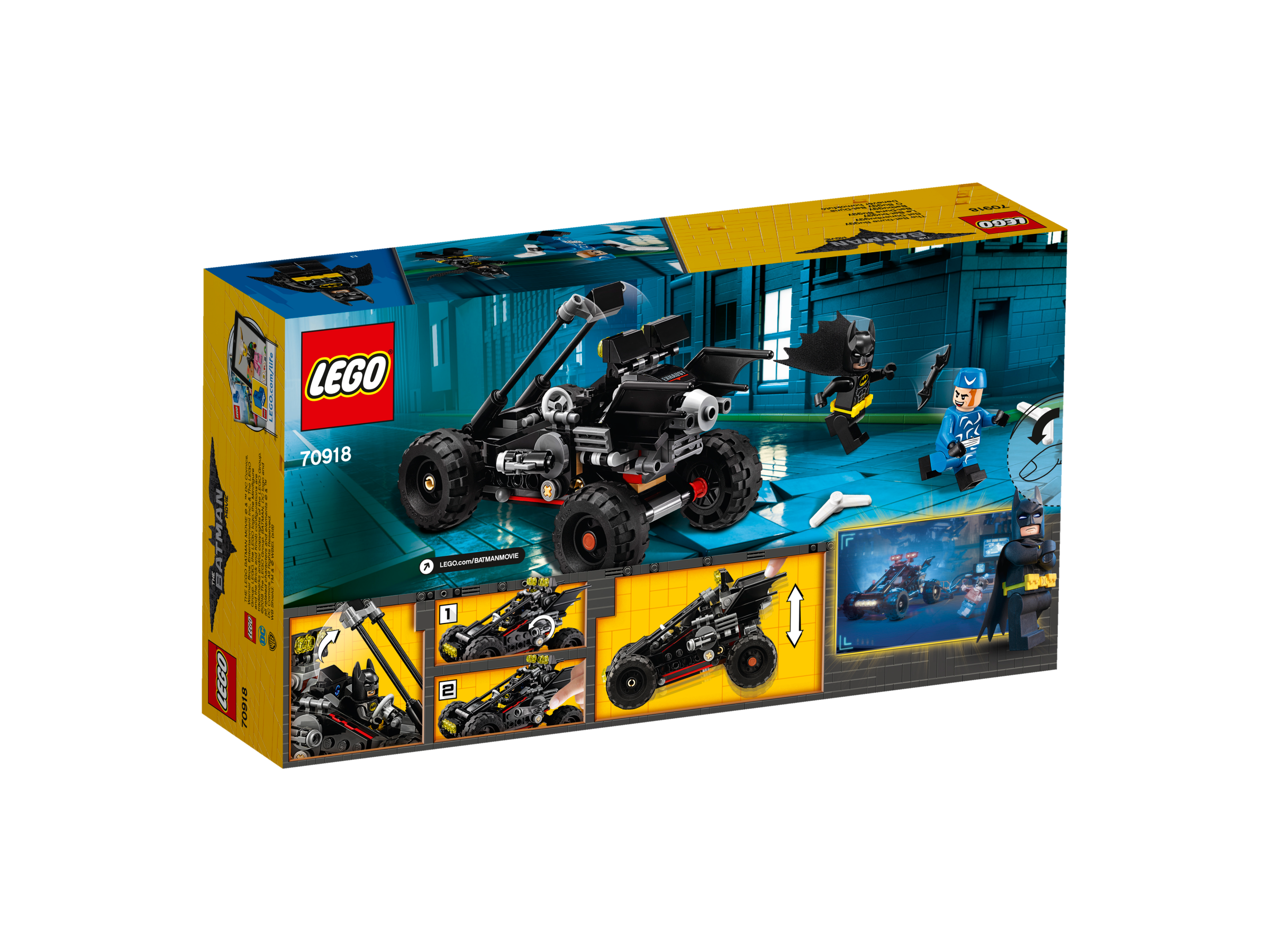LEGO® Batman Movie 70918 Pouštní Bat-bugina