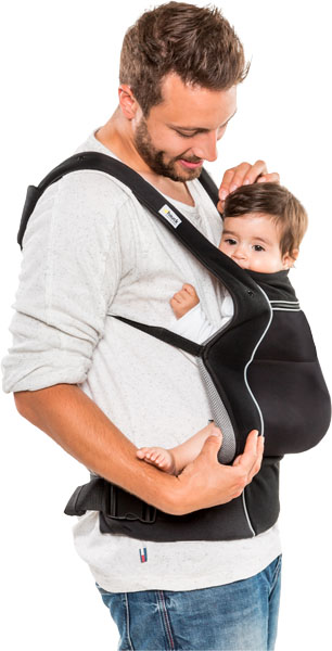 HAUCK Nosítko Close to me Carrier - Black