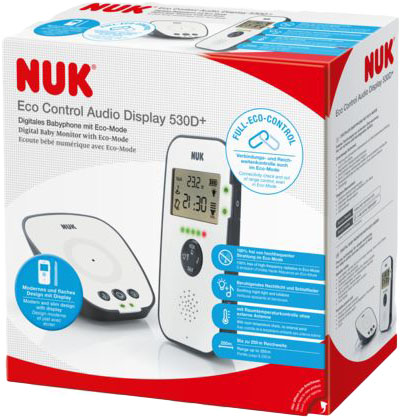 NUK Audio chůvička ECO Control Display 530D+