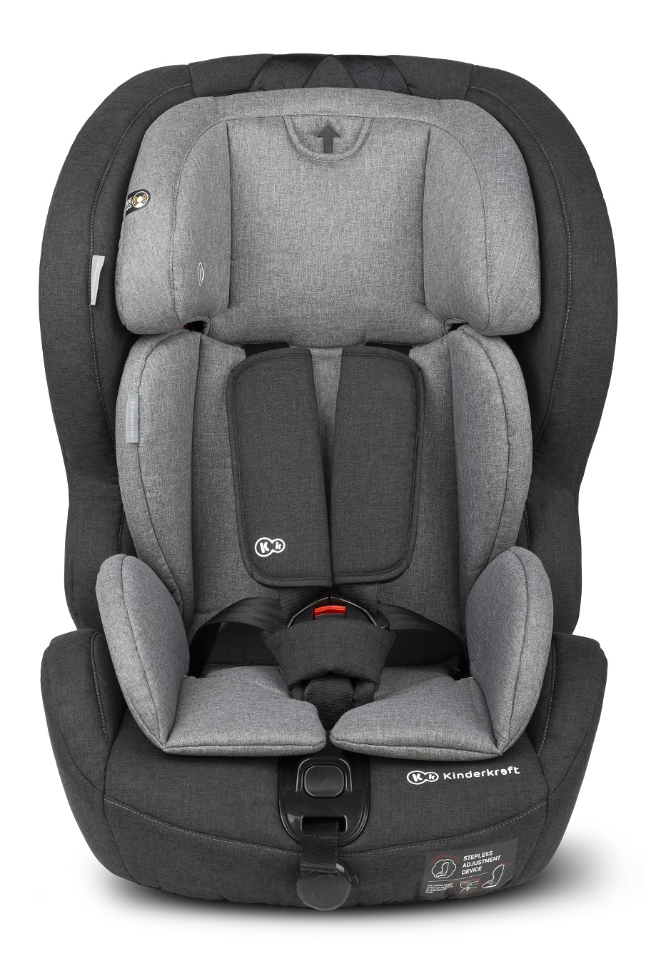 KINDERKRAFT Safety-Fix (9-36 kg) Isofix Autosedačka – Black/Grey - Kinderkraft Safety-Fix 2018 Bl
