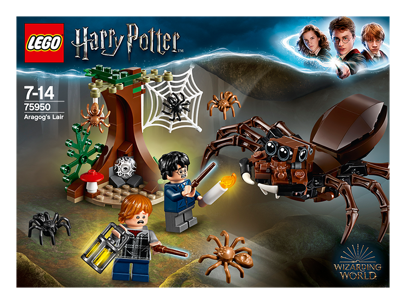 LEGO® Harry Potter Aragogovo doupě - LEGO Harry Potter 75950 Aragogovo doupě