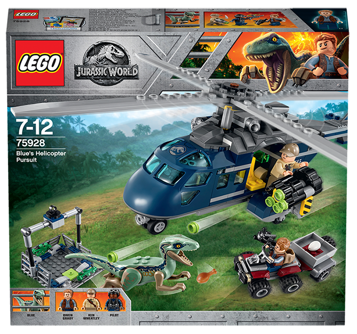 LEGO® Jurassic World Pronásledování Bluea helikoptérou - LEGO Jurassic World 75928 Blue's Helicopter Pursuit