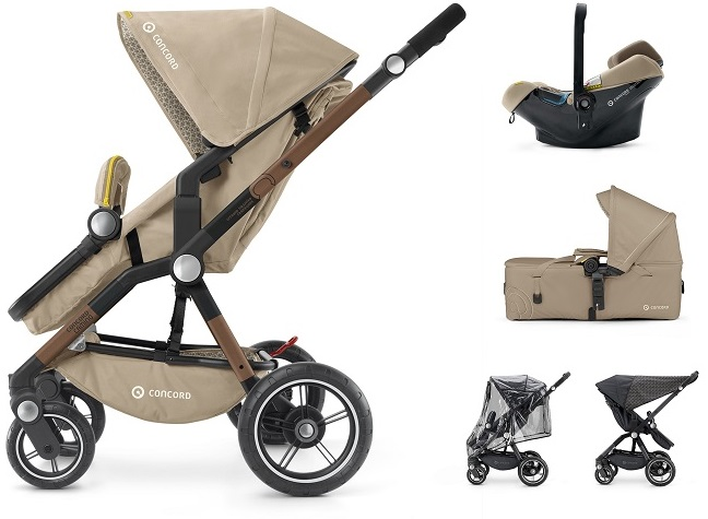 CONCORD Mobility Set Camino Air.Safe+Scout Powder Beige 2018