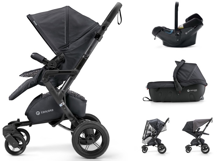 CONCORD Travel Set Neo Air.Safe+Sleeper Cosmic Black 2018