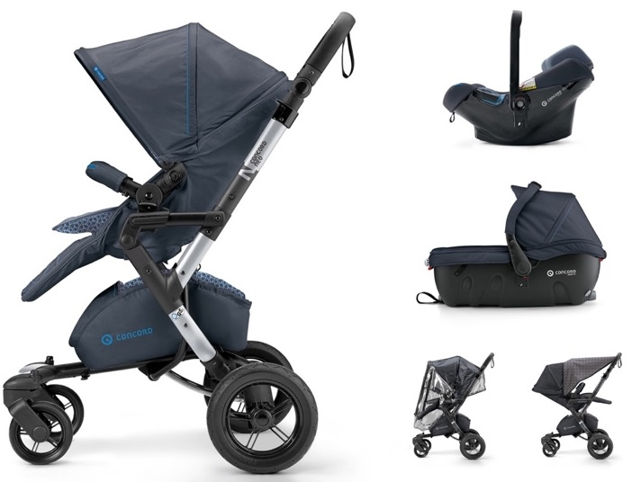 CONCORD Travel Set Neo Air.Safe+Sleeper Deep Water Blue 2018