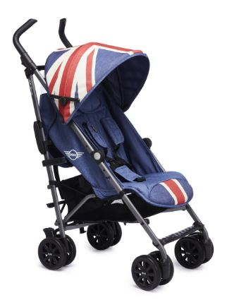 EASYWALKER Kočárek golfový Buggy+ Mini – Union Jack Vintage - Easywalker MINI by buggy XS 2018 union jack vintage