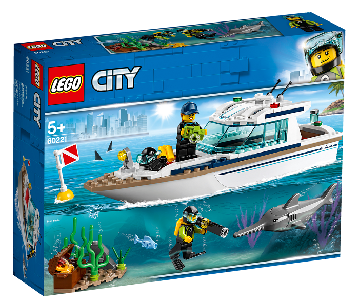 LEGO® City Great Vehicles 60221 Potápěčská jachta